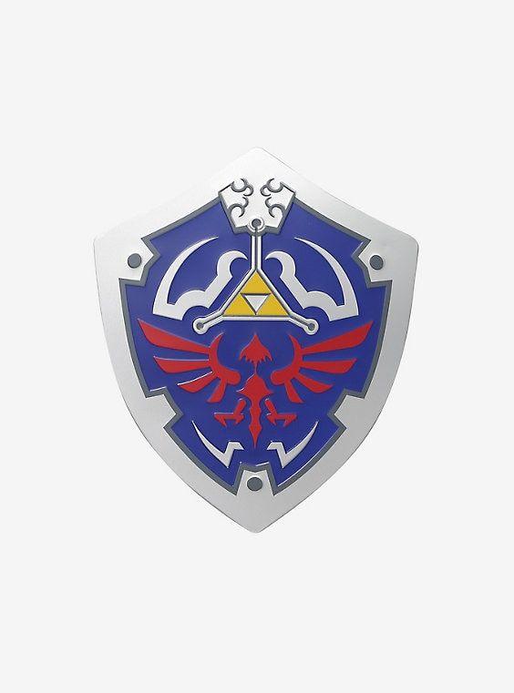The Legend Of Zelda Shield Metal Wall Art Metal Wall Art Zelda Tattoo Art
