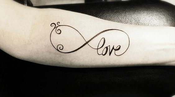Love, infinitely.