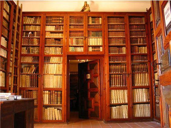 La Biblioteca de la catedral vieja de Salamanca