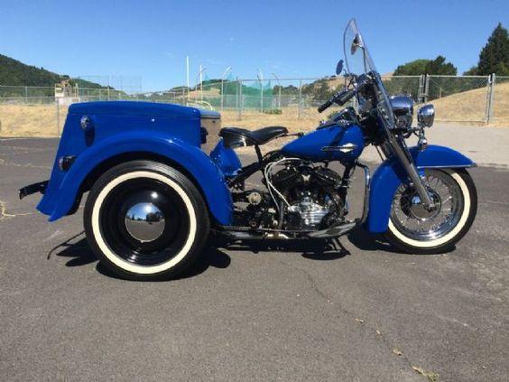 1964 Harley-Davidson SERVI CAR Antique , Blue, 375 miles for sale in Novato, CA   Motorcycles ...