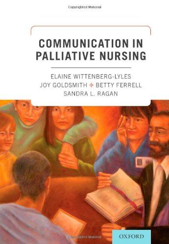 Based on a narrative approach to communication, which addresses communication skills development holistically, this volume teaches nurses to consider a holistic model of communication that aligns with the holistic nature of palliative care. This work moves beyond the traditional and singular view of the nurse as patient and family teacher, to embrace more complex communication challenges present in palliative care -- namely, providing care and comfort ...