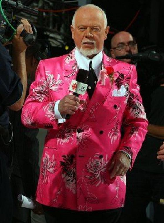 Donald S Cherry Canada S Iconic Hockey Night In Canada Announcer Bostonbruins Boston Bruins Food Don Cherry Hockey Bruins Hockey