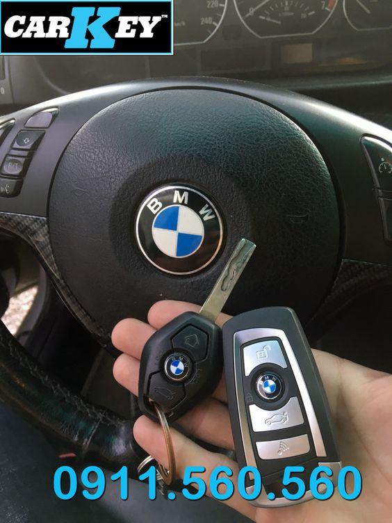 Chìa Khóa Flip BMW E64
