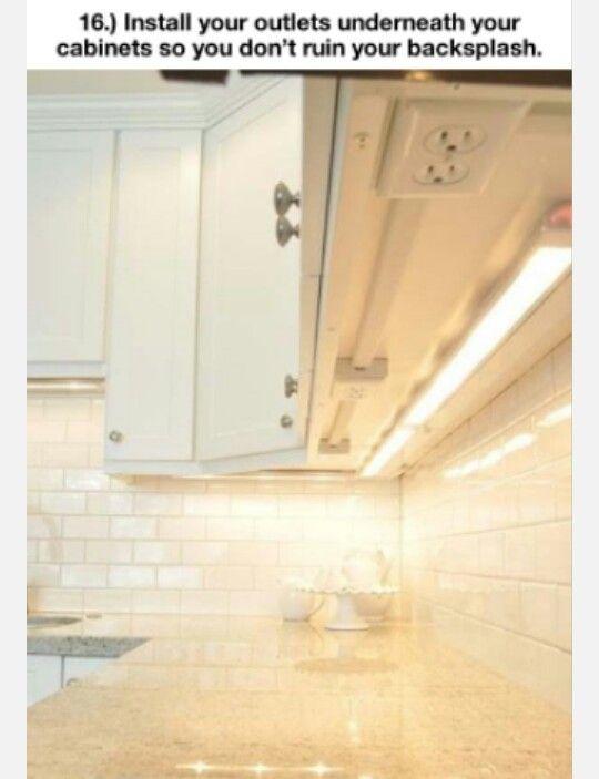 Versteckte Steckdosen Küche Pinterest Organizations, Tiny - steckdosen in der küche