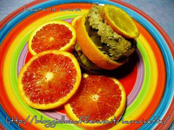 #Carciofi ripieni al profumo d'arancia ,ricetta saporita