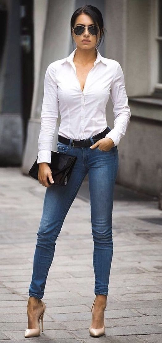 Pin By Dcr On Legs Fashion Business Casual Jeans Casual Outfits