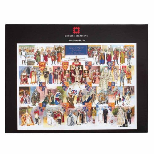 Jigsaw Puzzle Works of Art Queen Elizabeth II 1000 pieces NEW Made in USA