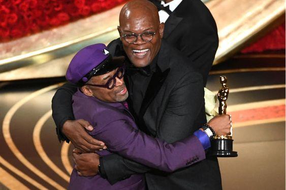 Spike Lee wins an Oscar