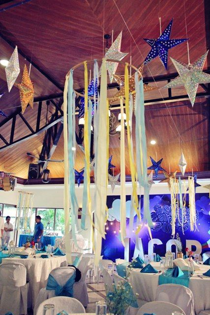 Jacob's The Little Prince Themed Party – Ceiling Decor ...