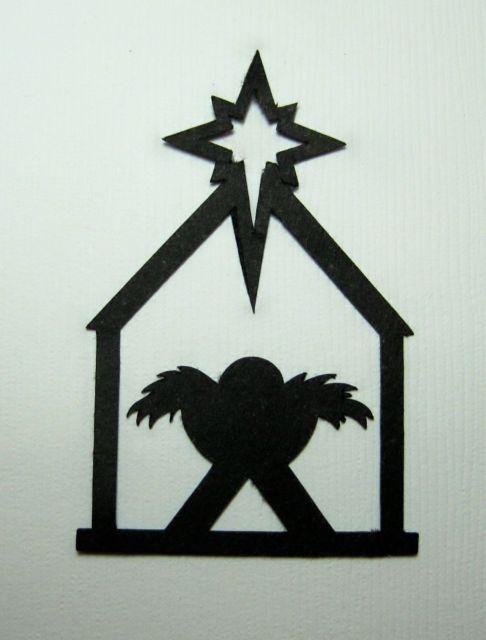 Nativity Scene Silhouette x 8 - Christmas - Manger | The nativity ...
