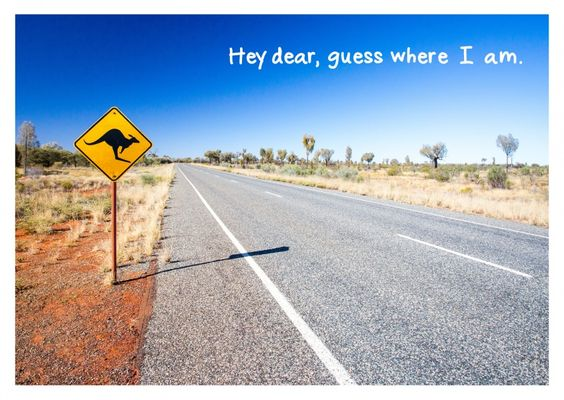 Down Under | Urlaubsgrüße | Echte Postkarten online versenden | MyPostcard.com