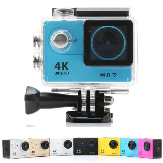 Action Cam Wifi Câmera Capacete Esporte Mergulho Hd 1080p 4k | Action Cam Wifi Câmera Capacete Esporte Mergulho Hd 1080p 4k