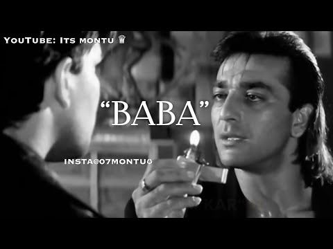 Sanju Baba Sanjay Dutt Dialogues Aatish Movie Whatsapp