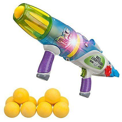 Pistolet à balles phosphorescentes Buzz l'Éclair Toy Story Disney
