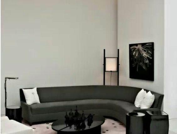 Le Canape D Angle Arrondi Comment Choisir La Meilleure Variante Pour Votre Salon Archzine Fr Canape Angle Canape Arrondi Canape D Angle Arrondi