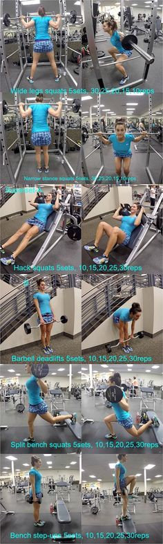 10 WEEKS TO FITNESS DAY-36: LEGS