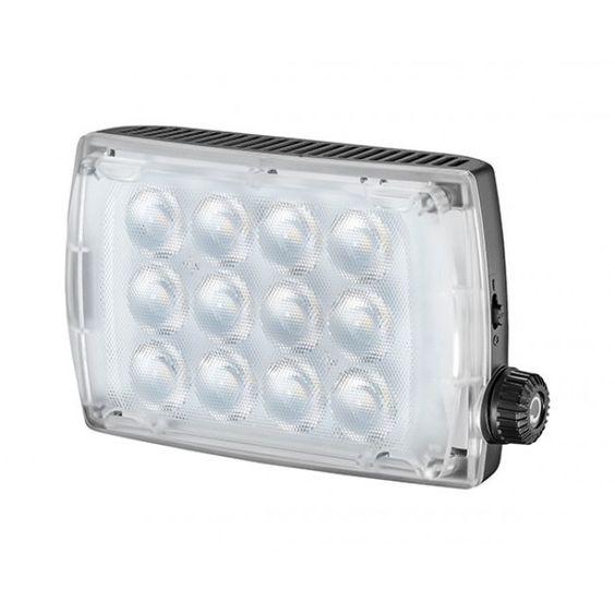 Manfrotto Spectra2 Antorcha LED  Antorcha LED ajustable 12 puntos de luz, hasta los 650 lux Temperatura de color hasta 5600K Ideal para fotografías y vídeo  Precio final   189,99 € IVA incluido