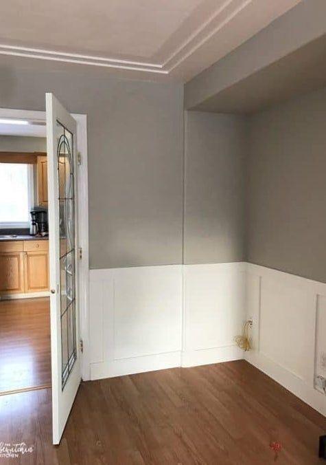 16 Borderline Genius Home Improvement Projects That Are Easier Than They Look Borderline In 2020 Esszimmer Vertafelung Hausverschonerung Raumideen Diy
