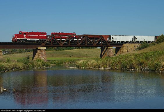 RailPictures.Net Photo: E&E 37 Ellis & Eastern EMD GP10 at Corson, South Dakota by John Leopard