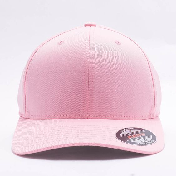 Wholesale Flexfit/Yupoong 6277 Flexfit Wooly Combed Hat [Pink]