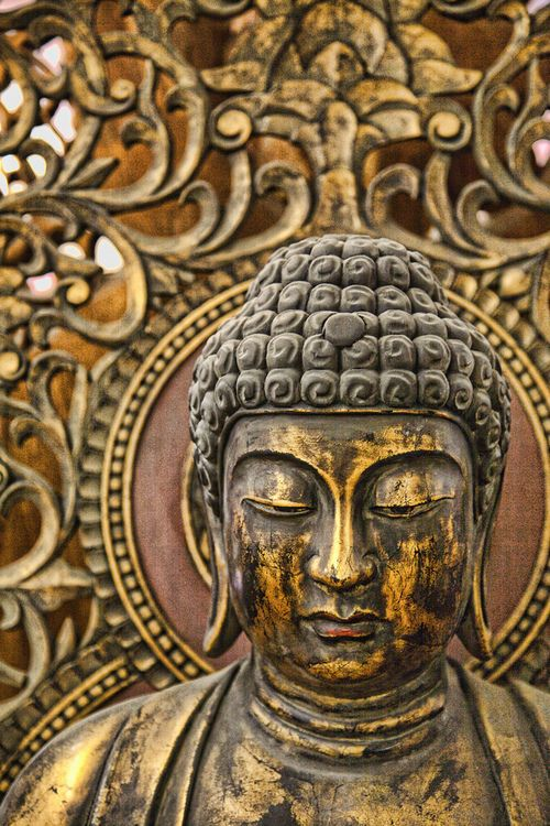 what we think. we become - buddha | by karen walzer #goodcharma  #goodcharmastyle
