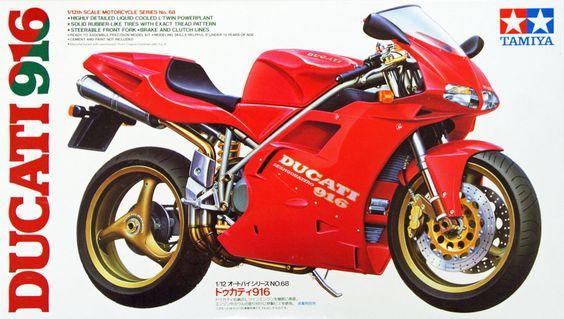 Tamiya 14068 Ducati 916 1 12 Scale Kit | eBay