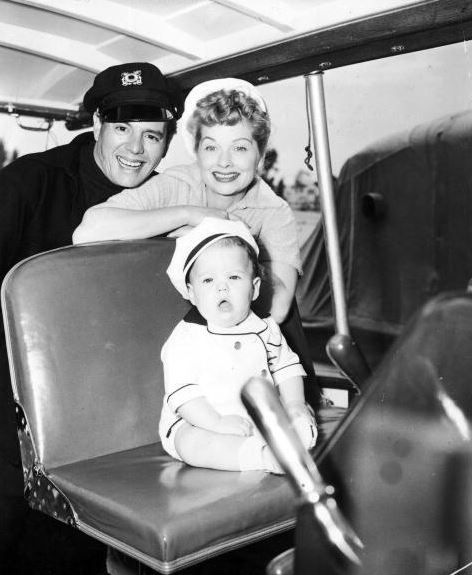 A Look Back at Lucille Ball With Her Adorable Kids | Kid ...