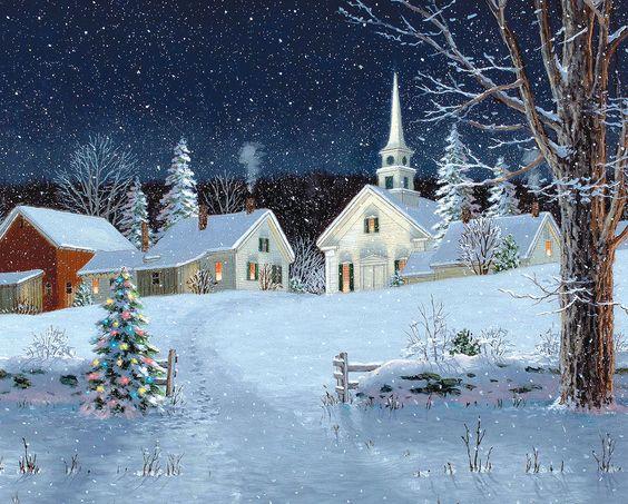 Fred Swan — Christmas Lights (1200×964):