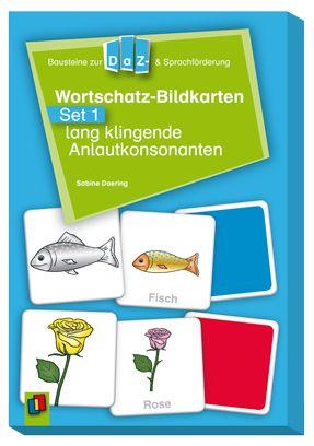 Bausteine für die DaZ- und Sprachförderung: Wortschatz-Bildkarten – Set 1: lang…