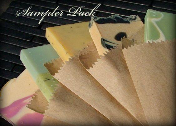 Soap Sampler Pack | Shop Handmade Soaps - River County Soapworks