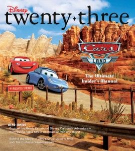 D23 Magazine - Cars Land