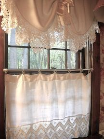 New Uses for Old Linens. I love old linens, especially those with beautifully hand crocheted edges. Many of those in my collection have edgings 10 inches or more in width and represent a significant amount of effort. More...