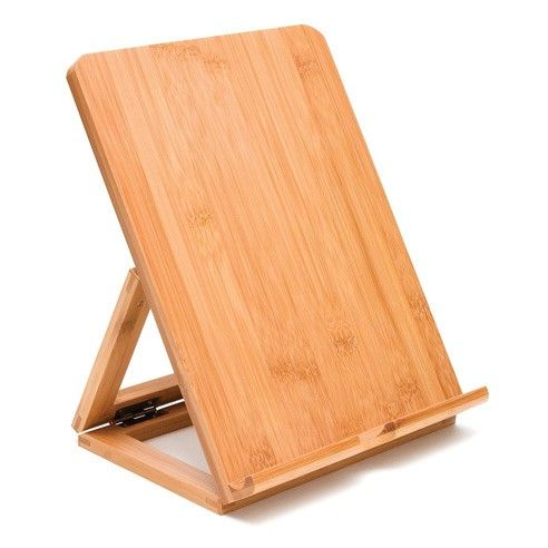 Bamboo Tablet Easel—bought this to support my books while I'm reading to ease the pain in my joints. I love that it's portable, unlike the book pillows out there (which I love too!)