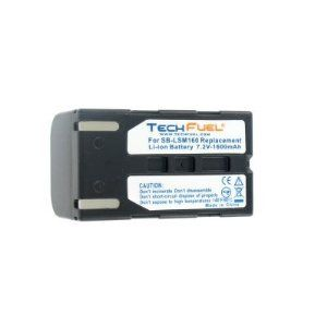 Samsung VP-D655 Camcorder Battery - Premium TechFuel® SB-LSM160 Extended Capacity Battery. Bring your camcorder back to life with a new TechFuel battery.  Make sure you never miss another once-in-a-lifetime moment by having a new, TechFuel battery specifically designed for your Samsung VP-D655 camcorder.  TechFuel rechargeable batteries are engineered to meet or exceed OEM specifications and feature the latest battery technology, including advanced circuitry, voltage regulation, and thermal…