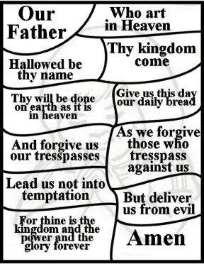 Teaching Children Kids The Lord S Prayer Bible Lessons For Kids Prayers For Children Sunday School Activities