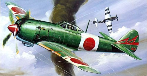 Nakajima Ki 84 Hayate Vs P-51