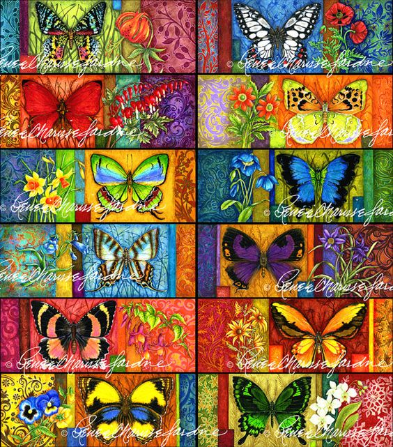 Red Flyer Gliceé Print Artist Signed Butterfly by StudioJardine, $25.00
