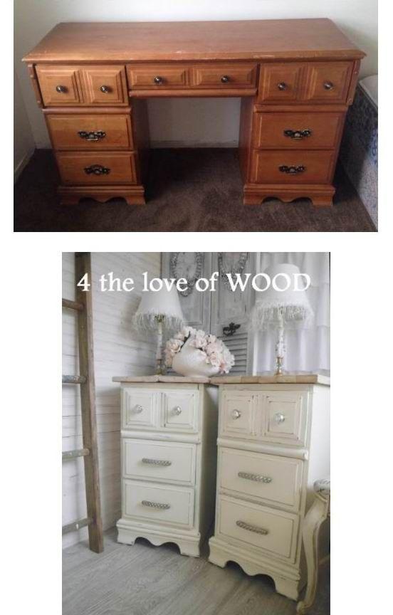 4 The Love Of Wood Desk Makeover Old Desks Repurposed Furniture Refinishing Furniture
