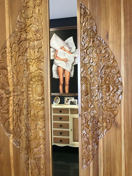 Indonesian door