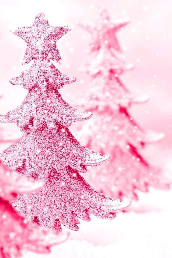 Christmas Tree Pink Christmas Tree Christmastree Top 40 Beautiful Pink Christmas Treeswhen Christmas Starts Knocking The Door We Rosa Weihnachtsbaum Weihnachtshintergrund Und Rosarote Weihnachten