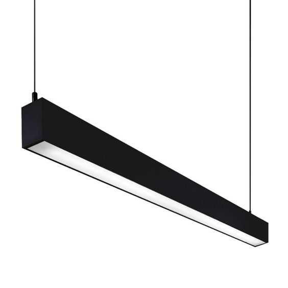 Slik suspension a single pendant luminaire with diffused lighting using 2 x - Cable suspension luminaire ...