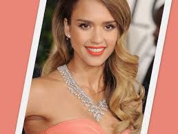jessica alba hair curly - Google Search