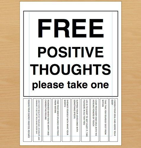 Clip Art Stay Positive Quotes