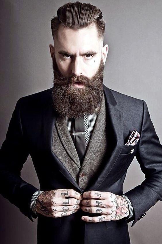 Tremendous Full Beard The O39Jays And Wedding On Pinterest Short Hairstyles Gunalazisus