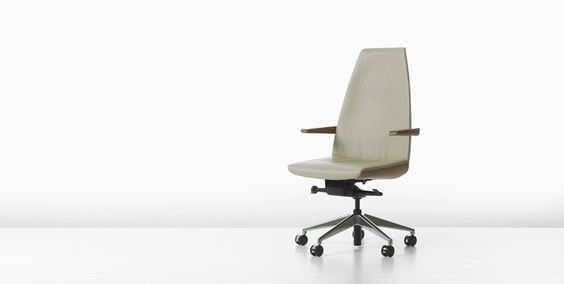 Clamshell Desk Chairs - Geiger