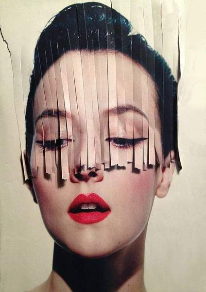Fashion Art Projects Collage 18+ Ideas #fashion