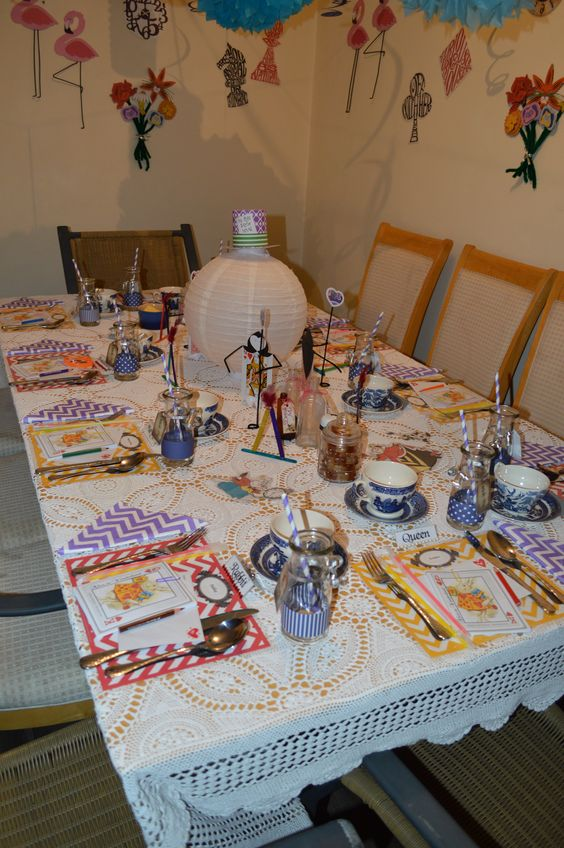 Table setting...