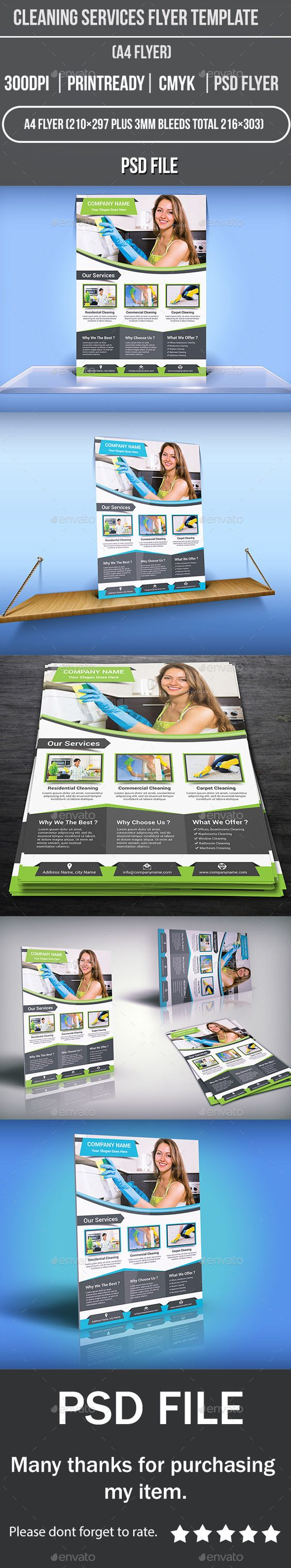 cleaning services flyer template green photoshop and flyer template cleaning services flyer template corporate flyers