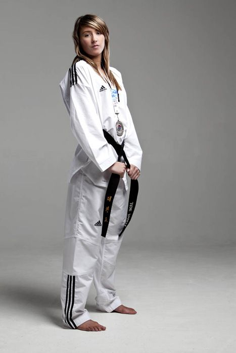 Jade Jones, Team GB Olympic gold medallist and world champion in Tae Kwon-Do