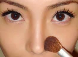 Como afinar o nariz com maquiagem ?
